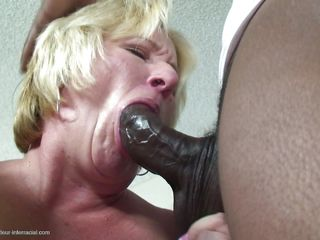 two bbc for a cum hungry mature blonde