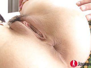 japanese babe gets a creampie for squirting